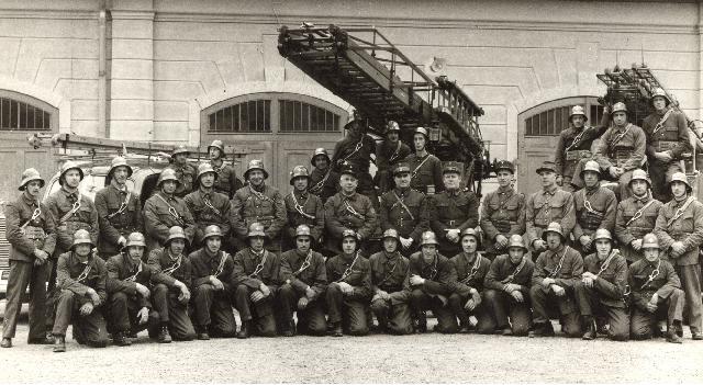Fotografie ufficiali del Corpo Pompieri