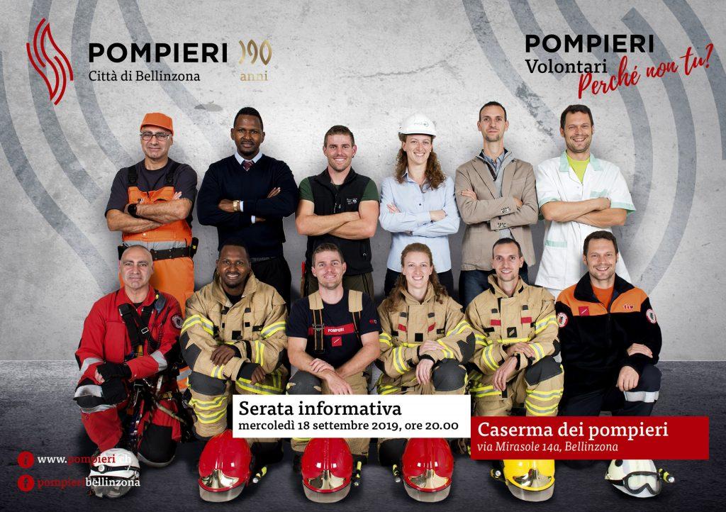 Pompieri volontari: perchè non tu?